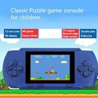 Yüksek kaliteli Video Oyun Konsolu Elektronik El Oyunları Retro Tuğla Tetris Oyunu Consola De Jeu 3.2 Inç Video Oyunları Oynatıcı