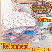 Универсальный цвет, 100 шт., 20 см* 25 см, обмытый материал, ткань, хлопок, ткань, очаровательные пакеты, Лоскутная Ткань, лоскутное шитье, тильда, креативный дизайн
