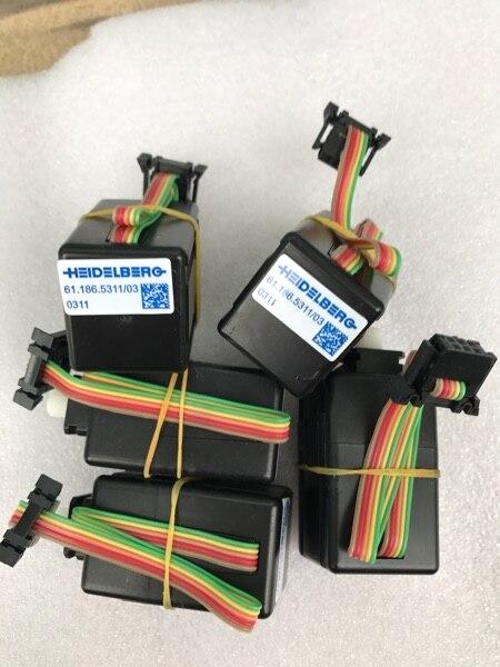 2 pcs/lot Heidelberg presse promotion encre clé moteur 61.186.5311/03. 0311