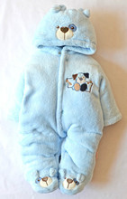 One-Piece Baby Romper Snowsuit