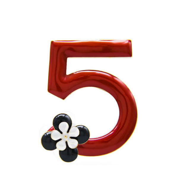 Kualitas Tinggi Nomor Bunga Pernikahan Bride Bros Fashion Bunga 5 Merah Tetes Minyak Pesta Wanita Berfokus Korsase Mewah Bros