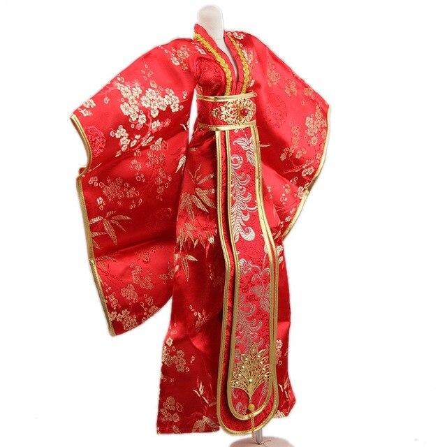 [Wamami] 699 # Китайский Классический Красный Свадебное Платье/Экипировка 1/4 MSD AOD БЖД Dollfie