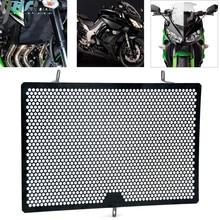 Motosiklet Paslanmaz çelik radyatör Grille Guard Koruma Kawasaki Z750 2007 2016 Z800 Z1000 ZR1000F Z1000SX 2011 2017