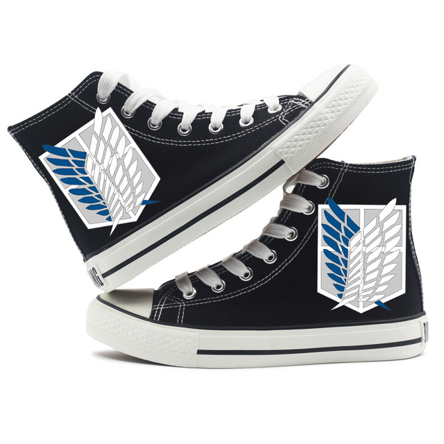 Attack On Titan Canvas Shoes