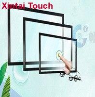 Free Shipping! 2PCS 65 10 points IR touch screen + 2PCS 55 10 points IR touch frame+1PCS 32 IR touch panel