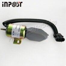 купить 332/J5060 Fuel Solenoid For JS130 JS160 JS180 JS240 JS260 JS330 24V онлайн