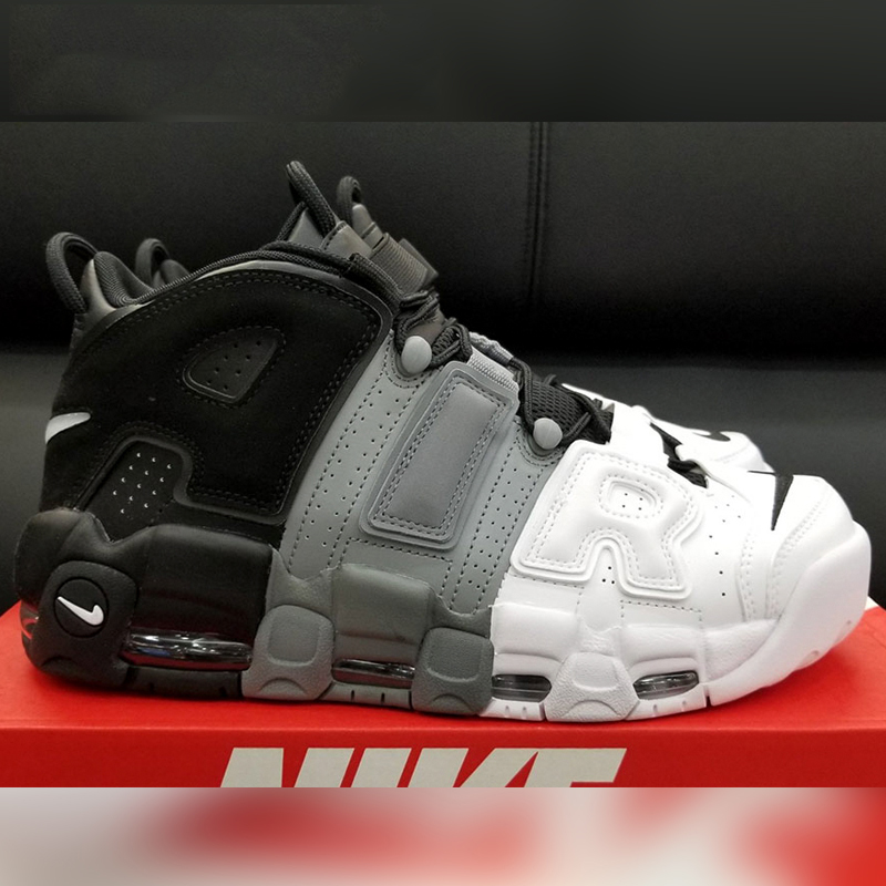 77a5b675429576 Original New Arrival Authentic Nike Air More Uptempo Tri-Color Men s ...