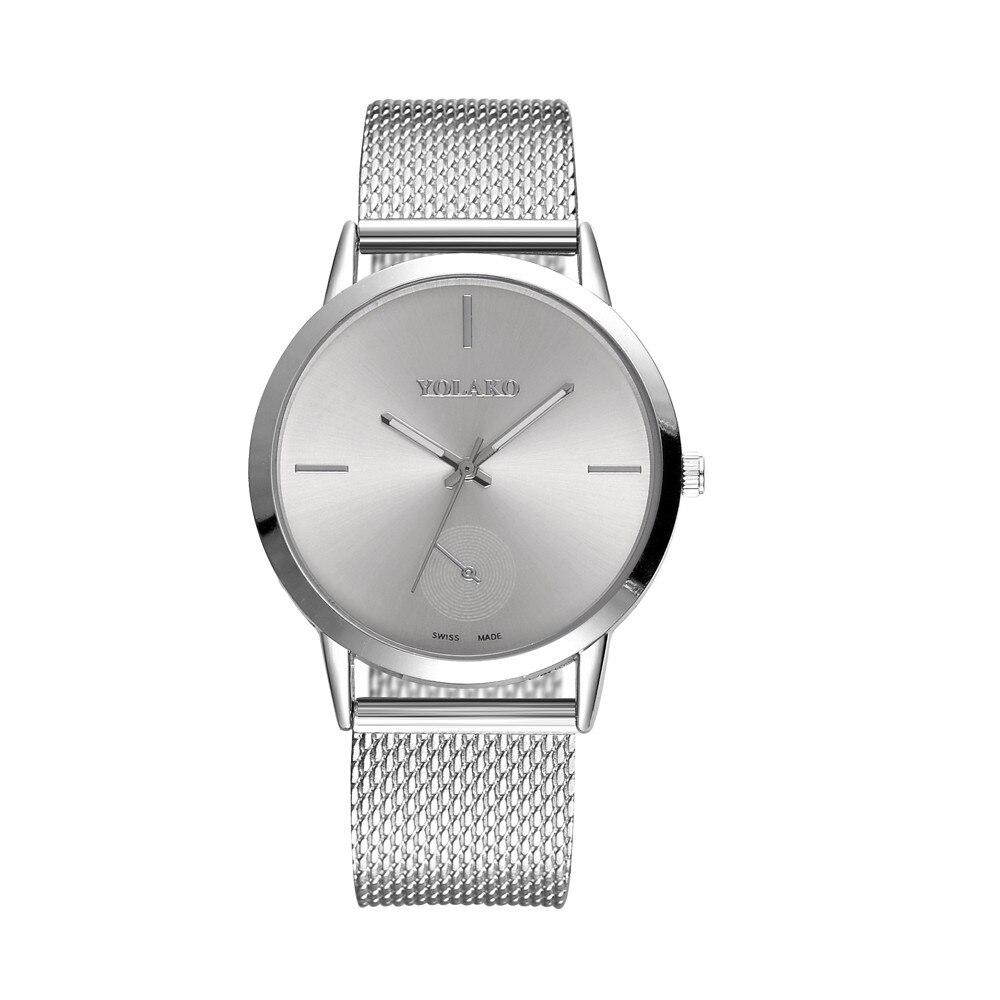 Women's Casual Quartz Silicone strap Band Watch Analog Wristwatch Ladies Quartz Watch Rose Golded Women's Watches Relogio hk&50 1