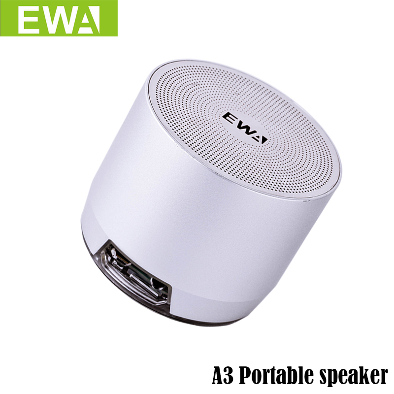 EWa A3 Portable Speaker For Phone/PC Wireless Bluetooth Speaker Support 3D Stereo Sound Metal Speakers MP3 PlayerEWa A3 Portable Speaker For Phone/PC Wireless Bluetooth Speaker Support 3D Stereo Sound Metal Speakers MP3 Player