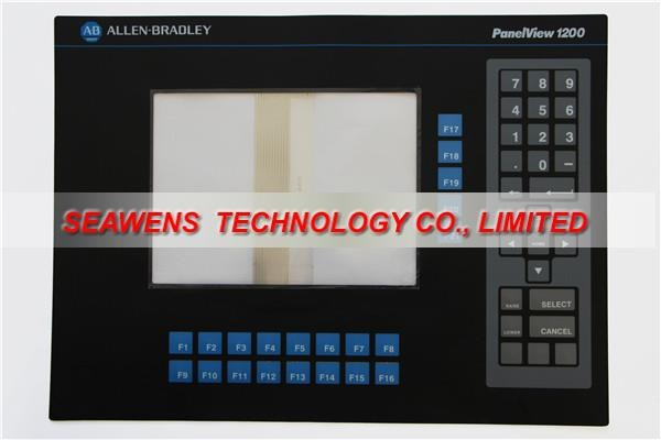 2711-KC1 2711-K12 series membrane for Allen Bradley PanelView 1200 series, FAST SHIPPING new industrial membrane switch keypad 2711p k10c4d2 for ab allen bradley panelview plus 1000