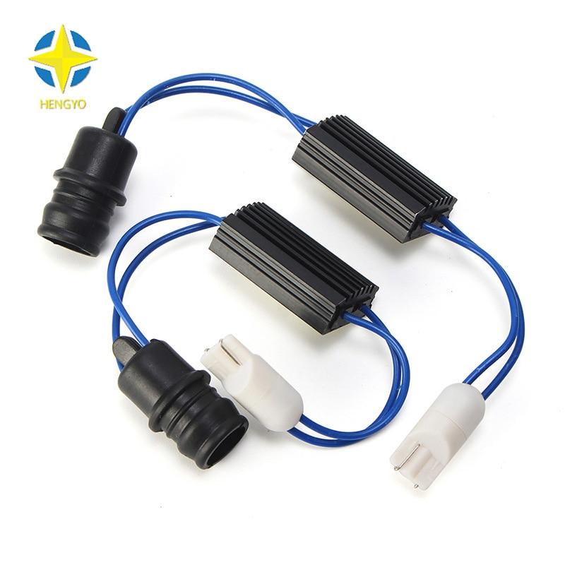 Leviton 6b42 Dimmer Wiring Diagram: 2 Pcs 12V LED Warning Canceller Decoder 501 NO Canbus OCB