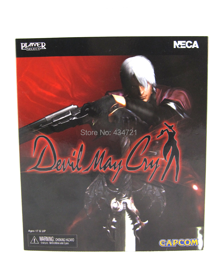 Wholesale Retail NECA Ultimate Dante Game Devil May Cry Series 18CM Figure Toys Retail Box