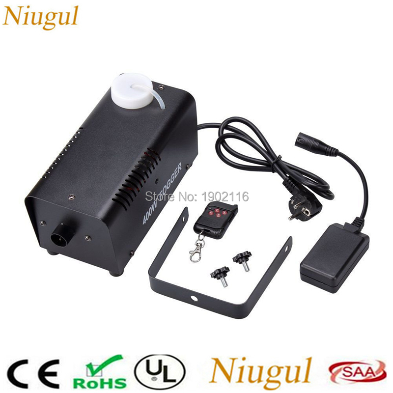 400W Fog Machine/Smoke Machine Portable With Wireless Remote Control For Party,Christmas,Halloween,KTV And Weddings/400W Fogger professional fog machine 400w mini smoke machine with wireless remote for wedding effects event party