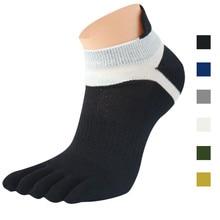 1 Pair men socks Woman socks sneakers Thermosets sneakers Mesh Meias Sports Running Five Finger Toe Socks