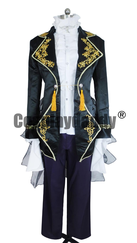 Vocaloid Gakupo Zpěv Sandplay z Dragon Halloween Set Cosplay Kostým