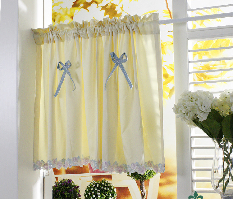 popular kitchen curtains yellow buy cheap kitchen curtains yellow lots