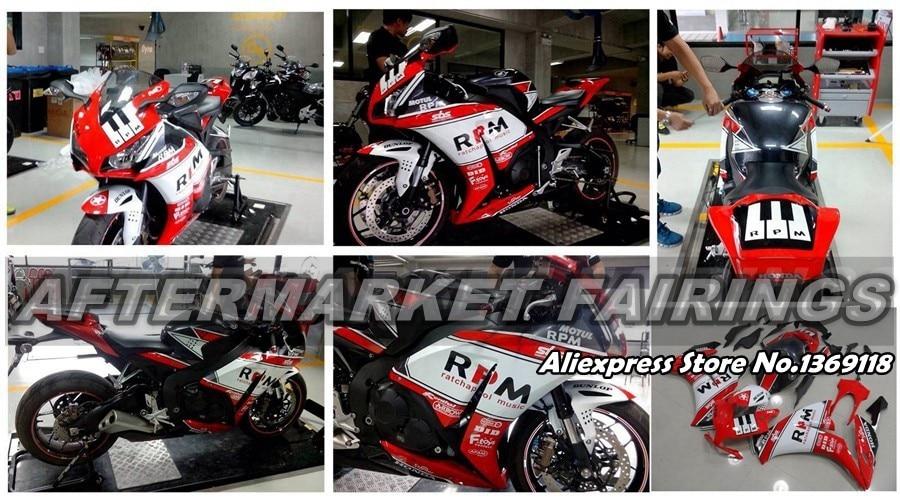 Для Honda Нью-REPSOL CBR600RR 2003 04 ABS Пластик обтекатель КУЗОВ