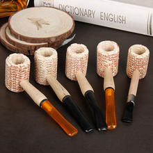 Smoking Accessories Tobacco Pipes Large Corn Cob Tobacco Pipe arbitraging large smoking pipe