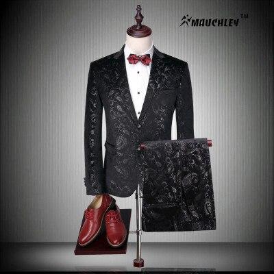 online kaufen gro handel moderne schwarzen anzug aus china. Black Bedroom Furniture Sets. Home Design Ideas