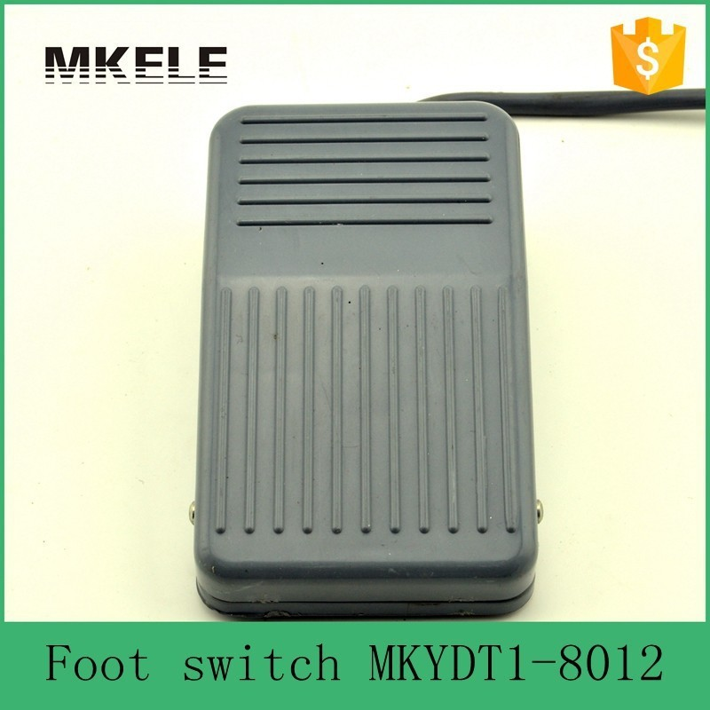 MKYDT1-8012  free shipping  Nonslip Plastic  low cost high quality 10A SPDT NO NC foot switch for CNC Industrial from factory free shipping electric disc sander tool accessories plastic pad plate tray for makita gv6000 high quality
