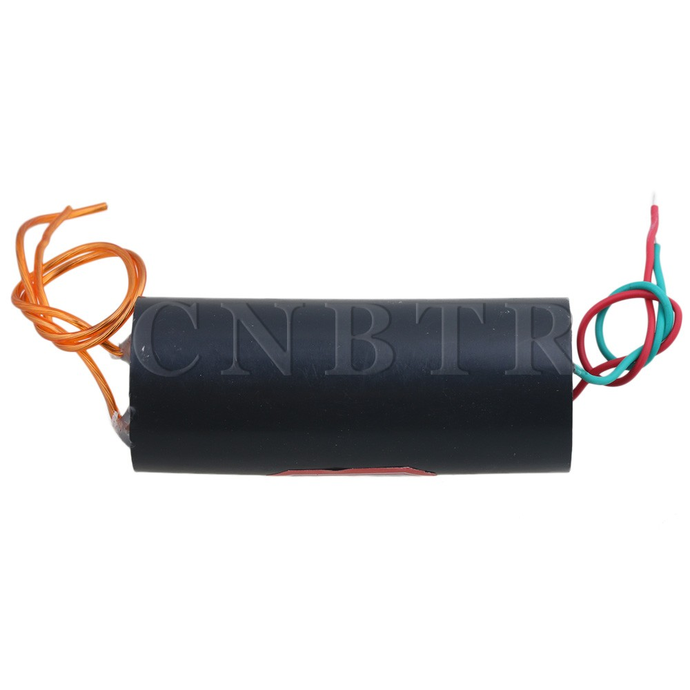 CNBTR Black DC6-12V 20KV 5mm-10mm Ultra-high Voltage Generator Boost Module Ignition Coil Module for Gas Liquid