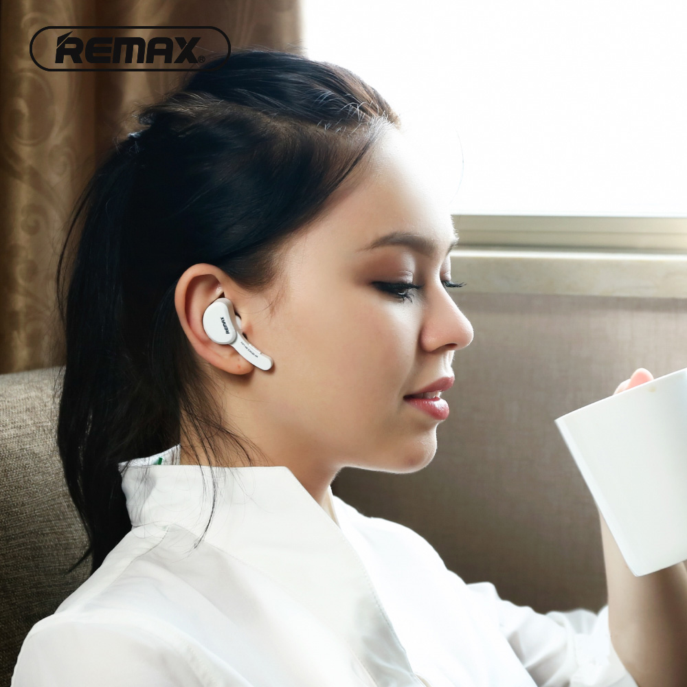 Remax T10 Mini Handfree In-ear Wireless Bluetooth V4.1 Earphone Black Color+ Retail package