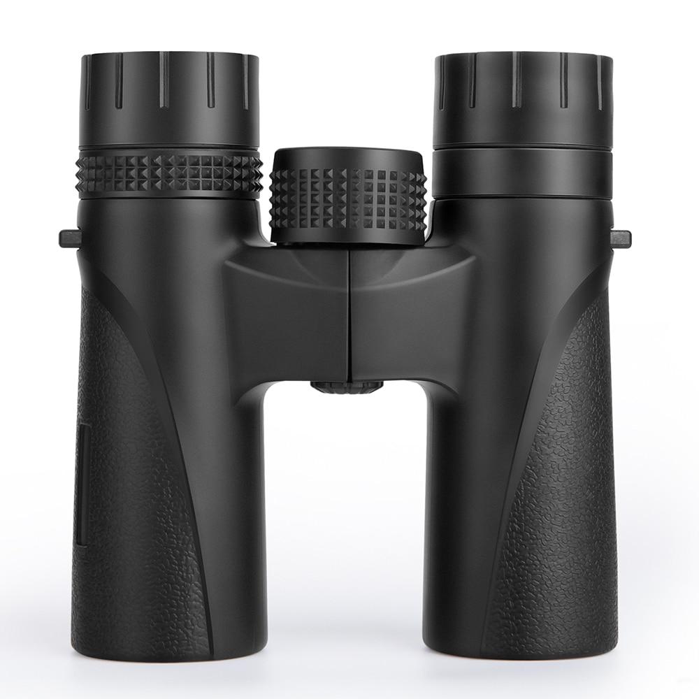 BIJIA 12x27 Compact Binoculars Long Range HD Powerful Mini Telescope BAK4 FMC Optics Hunting Sports Camping Бинокль