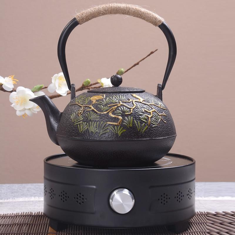 Natural Handmade Iron Teapot