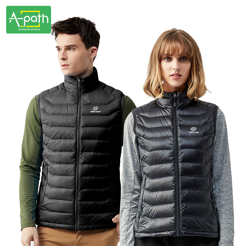 Autumn Winter Men Women Lovers Vest Outdoor Sport Camping Hiking Nylon Duck Down Vest Waistcoat Clothing Male Female XXXL For adjustable pro safety equestrian horse riding vest eva padded body protector s m l xl xxl for men kids women camping hiking