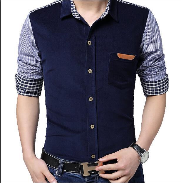 2015 Spring Fashion Men'S Casual Social Dress Shirt