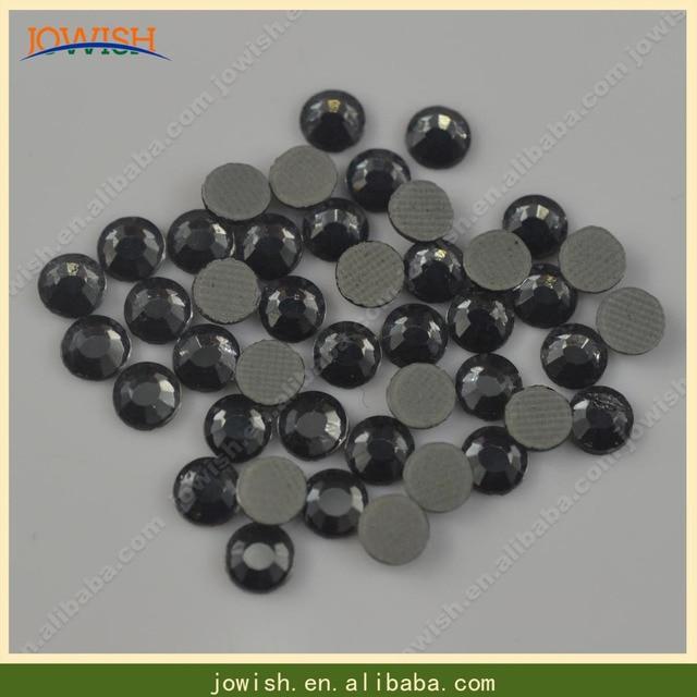 SS16 Black Diamond Crystals Flatback Rhinestone 200gross Hotfix Crystal  Stones Strass Beads for Clothes Crafts d4edbd77e088