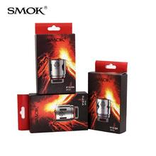 100 oryginalny SMOK TFV12 cewka V12-T8 V12-T12 V12-X4 V12-Q4 V12-T6 cewki głowy parowniki dla SMOK TFV12 Atomizer zbiornik tanie tanio TFV12 COIL TFV12 Tank DS Dual 0 12ohm 0 16ohm 0 15ohm 3pcs pack