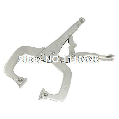 Bolt Nuts Holding C Clamp Locking Plier Hand Tool 11