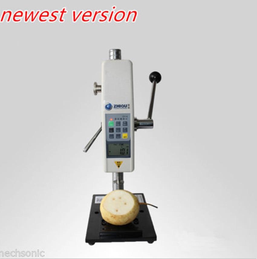 GY 4 font b Digital b font Fruit penetrometer Sclerometer Fruit Hardness Tester Test stand RH