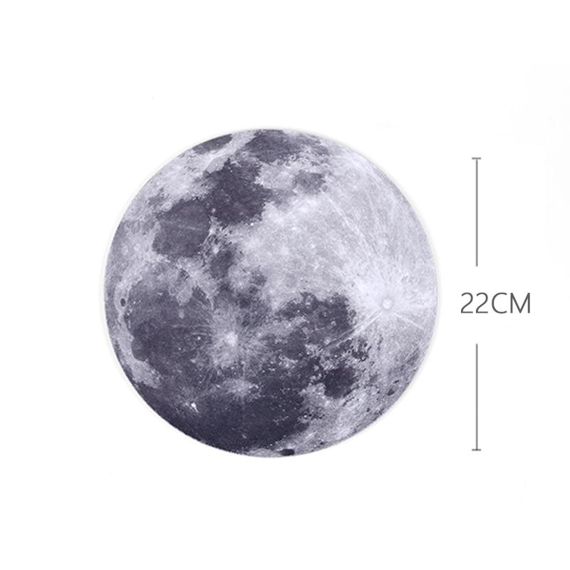 22 սմ Crirle Round The Moon Gaming Working Personalized Durable - Համակարգչային արտաքին սարքեր - Լուսանկար 5