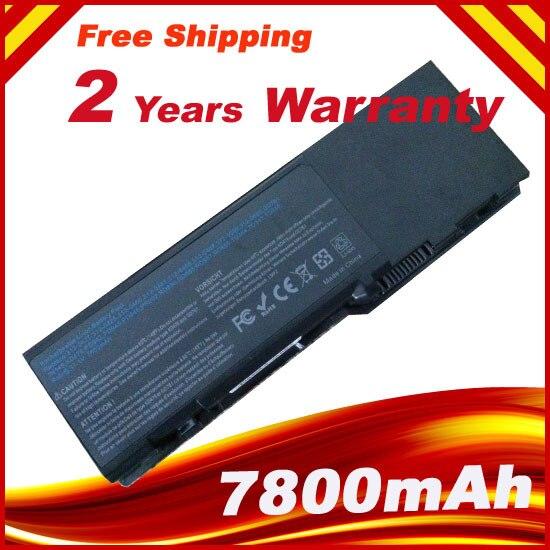 9 cellules 7800 mah Batterie D'ordinateur Portable pour Dell Inspiron 1501 6400 Latitude 131L Vostro 1000 XU937 UD267 UD265 GD761 JN149 KD476 PD942