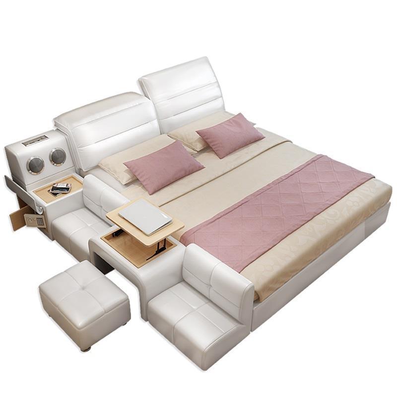A Castello Mobili Per La Casa Quarto Letto Literas Box Recamaras Leather bedroom Furniture Cama Moderna Mueble De Dormitorio Bed