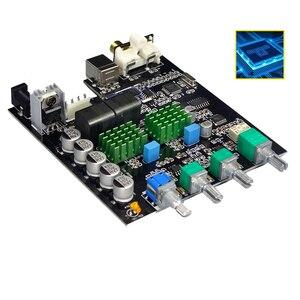 Image 1 - TPA3116D2 Bluetooth 5.0 Digitale Versterker Qcc3003 100W * 2 2.0 Stereo Audio Versterker PCM5102A Subwoofer Met Geluidskaart