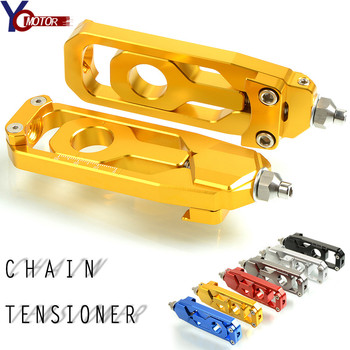 For Yamaha MT-09 MT09 Rear Axle Spindle Chain Adjuster Block Tensioners Aluminum Motorcycle CNC For FZ09 FJ09 Tracer 2013-2017