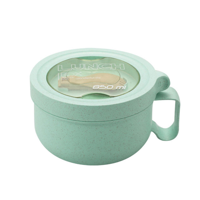 Convenient Round Shaped Leakproof Eco-Friendly Food Container