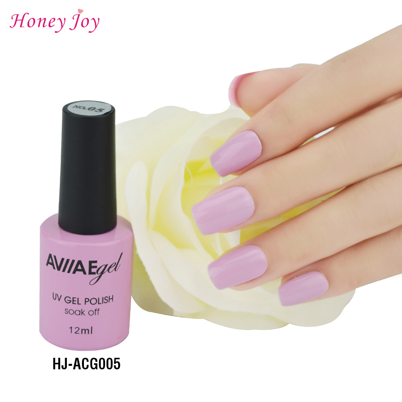 AVIIAE Light Purple Gel Nail Polish Long-Lasting Nail Gel Soak-off LED UV