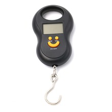 50kg/10g Electronic Scale Digital Scale Back Light Fishing Pocket Weight scale Hanging Luggage Scale Pocket Size Kg Lb OZ