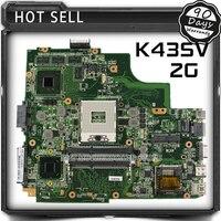 A43SV K43SJ K43SM K43SV asus mainboard del ordenador portátil A43S X43S series motherboard GT540M RAM 2 GB DDR3