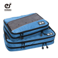 ECOSUSI 2 PCS/SET Nylon Packing Cubes For Clothes Lightweight Luggage Travel Bags For Shirts Waterproof Duffle Bag Organizers