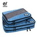 Ecosusi 2 pçs/set nylon cubos de embalagem para roupas leves organizadores saco de duffle sacos de viagem bagagem para camisas à prova d' água