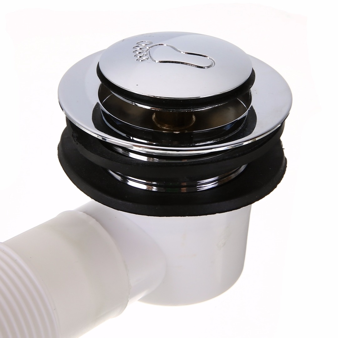 Hot Sale Bathtub Drain Filter Overflow Pop Up Plug Bathtub