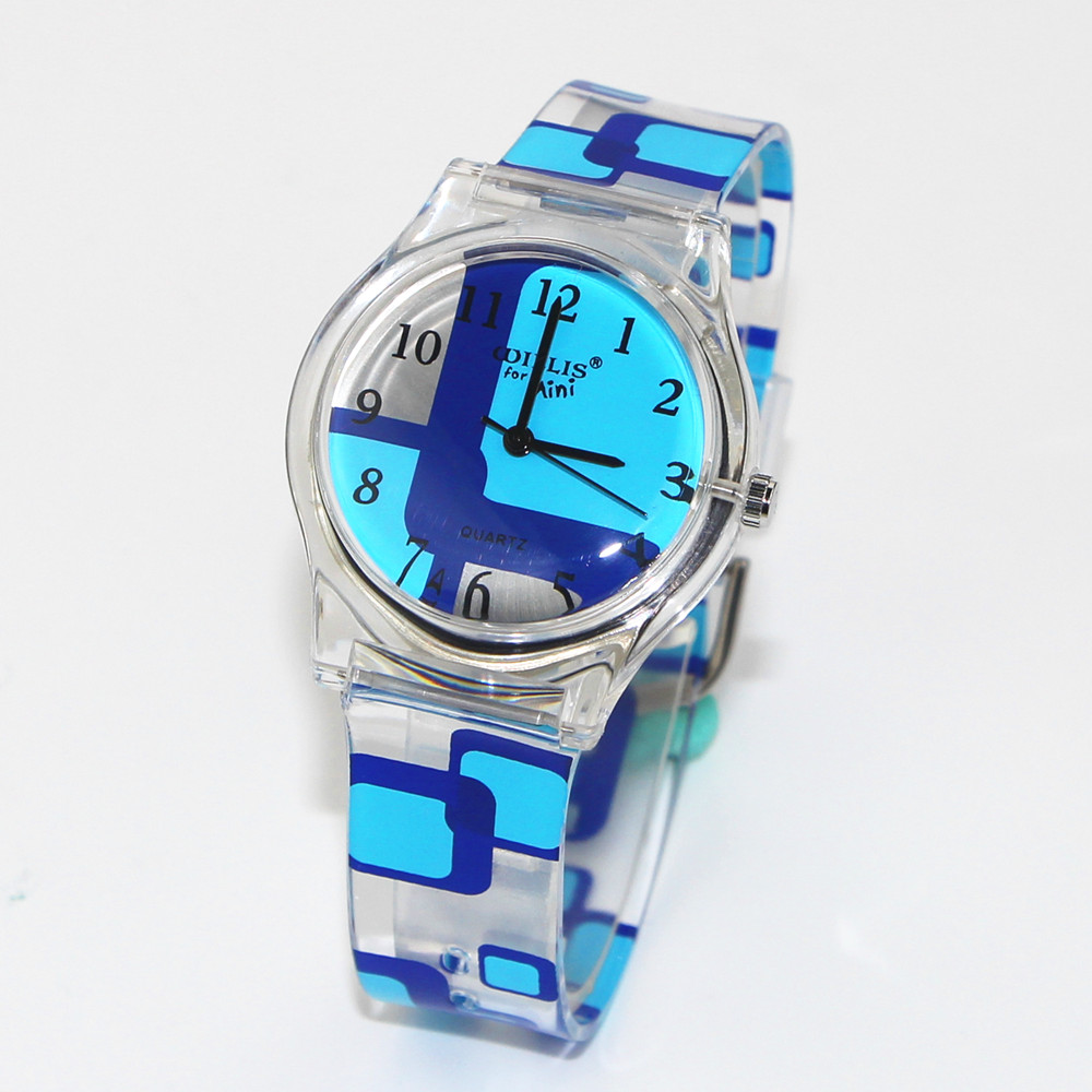 New Children Women Analog Quartz Wrist Waterproof Watch Student Dress Quartz Watches Clock Reloj