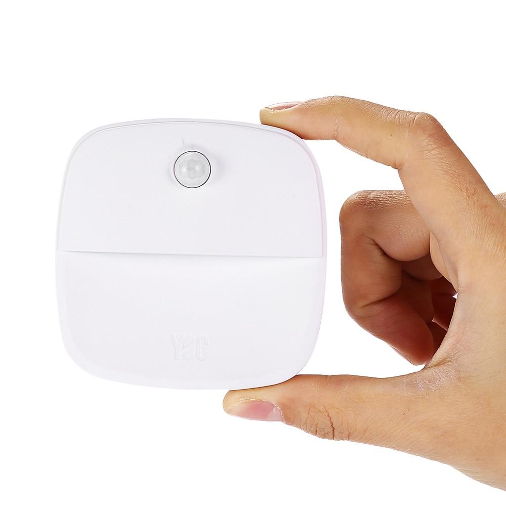 Novelty Lights Wall Night Lamp Light Sensor Control Induction LED Sleeping Night Light For Bedroom Bathroom Hallway Stairs