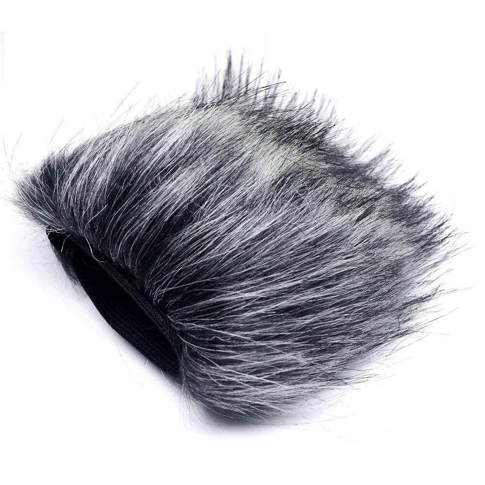 Mcoplus Anti Wind Microphone Cover For ZOOM H4N Boya V02 MIC Furry Windscreen HN-9