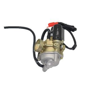 Image 5 - 1 Pcs 17mm קרבורטור פחמימות אלומיניום סגסוגת עבור עבור הונדה SA50 SK50 SYM 2 שבץ מנוע קטנוע אופני עפר וכו ללבוש התנגדות